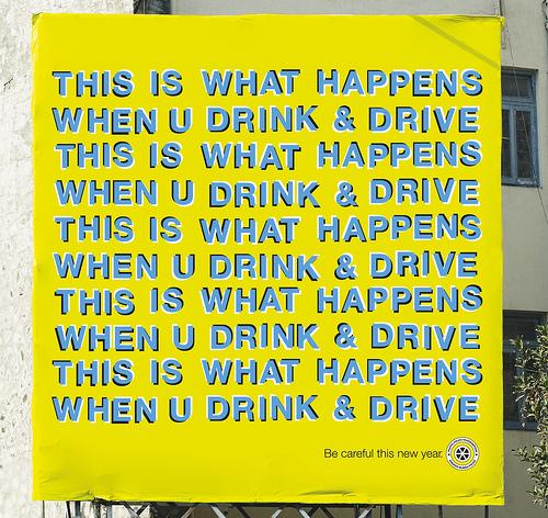 sensibilisation circulation routière boire ou conduire il faut choisir