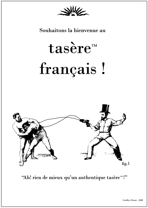 taser france taser français!