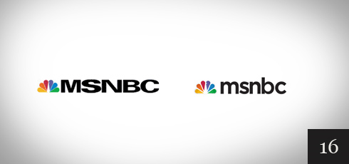 Great Redesigns | Function Design Blog | MSNBC