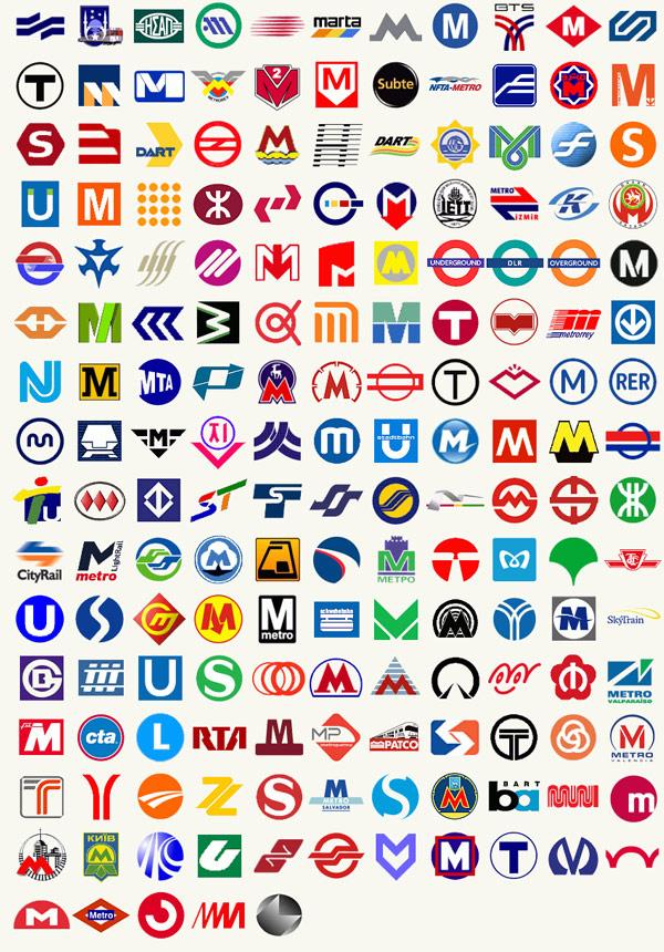 Souvent 170 logos des métros du monde entier ! – Graphisme & interactivité IL52