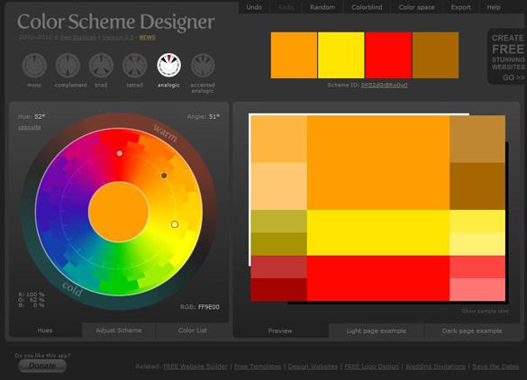 Comment Choisir Une Couleur Et Sa Gamme Colorée Webdesign