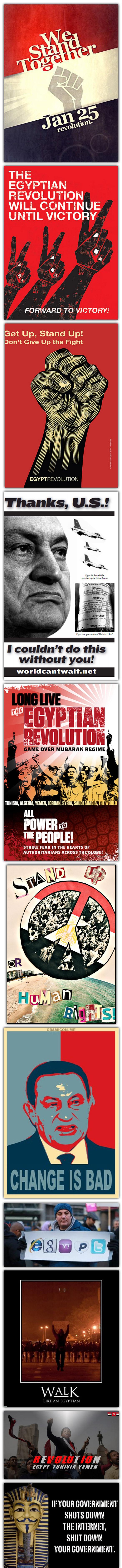 egypy Egypte : affiches et images dune révolution !