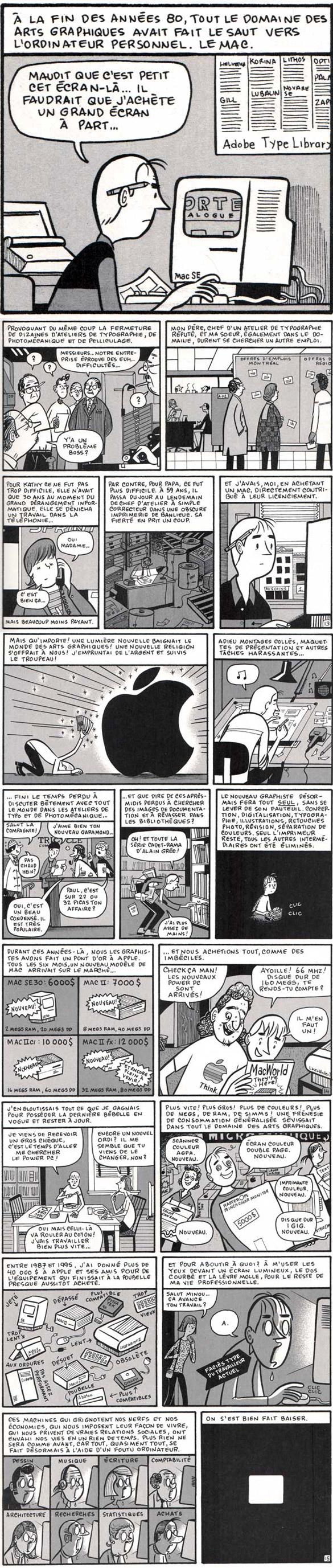 mac apple Apple et Paul : On sest bien fait baiser