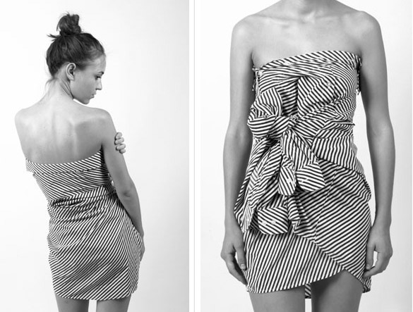 Comment transformer une robe bustier