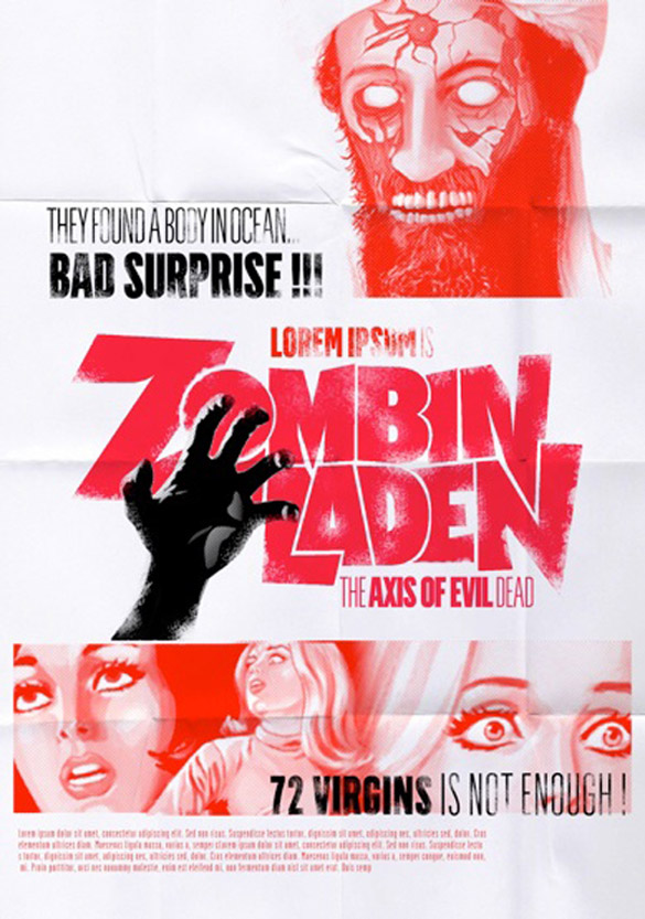 zombie ZomBin Laden : The Axis of Evil Dead