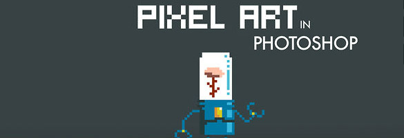 tshop [tutoriel] Comment faire du pixel art sur Photoshop ?