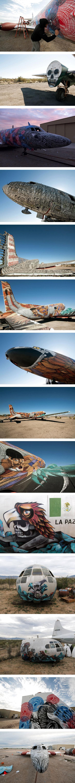plane Quand les avions de guerre deviennent des œuvres dart !
