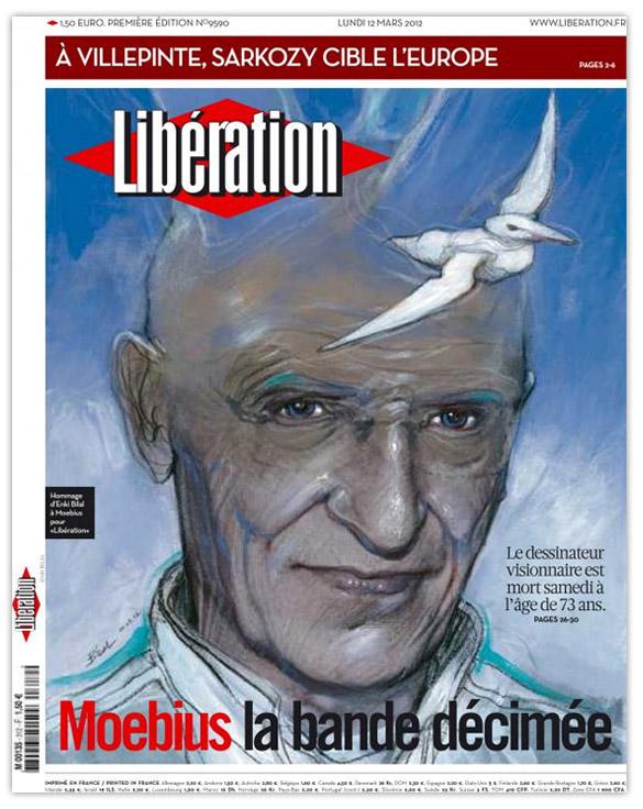 libe1 Quand le web sincline devant Moebius / Jean Giraud.