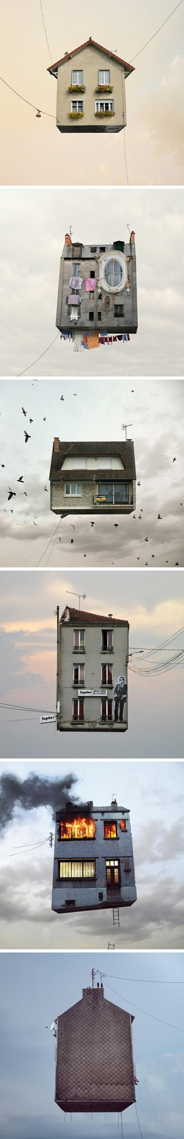 houses Vole petite maison, vole !
