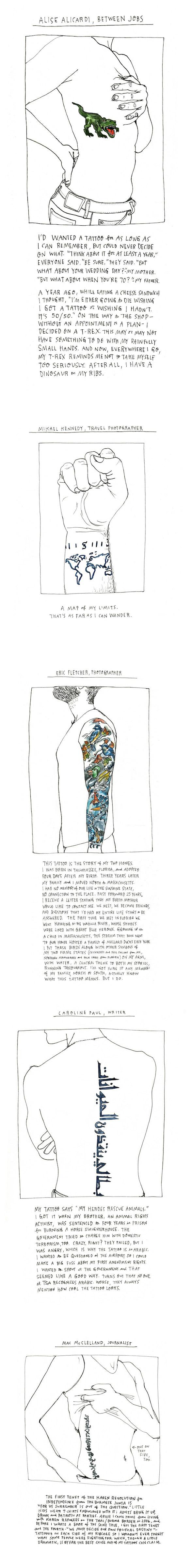 tatoo Les tatouages et... leurs histoires !