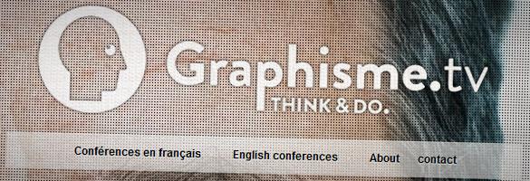 graphism Découvrez GRAPHISME.TV et toutes les conférences de designers, de graphistes, etc.
