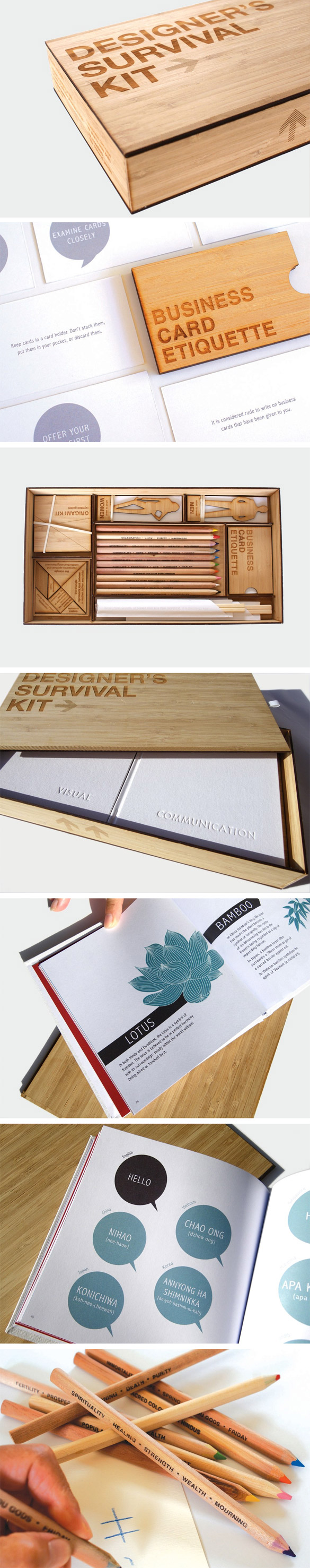 survival Le kit de survie du designer !