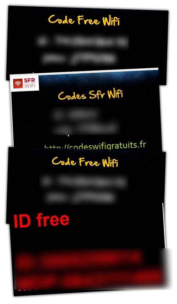 SFR1 CodesWifiGratuits un site qui distribue les codes FreeWifi, SFR Wifi, etc.