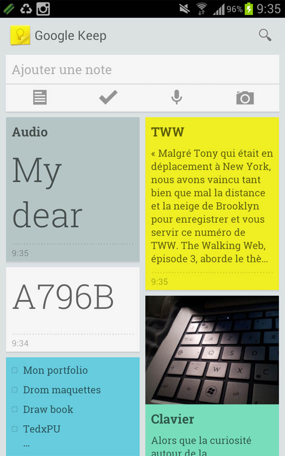 IMG 0183 0000 Layer 5 Google Keep : design et usages