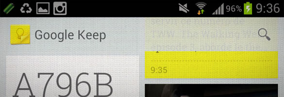 keep Google Keep : design et usages