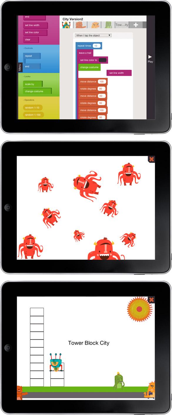 game Apprenez à vos enfants à coder sur iPad avec Hopscotch !