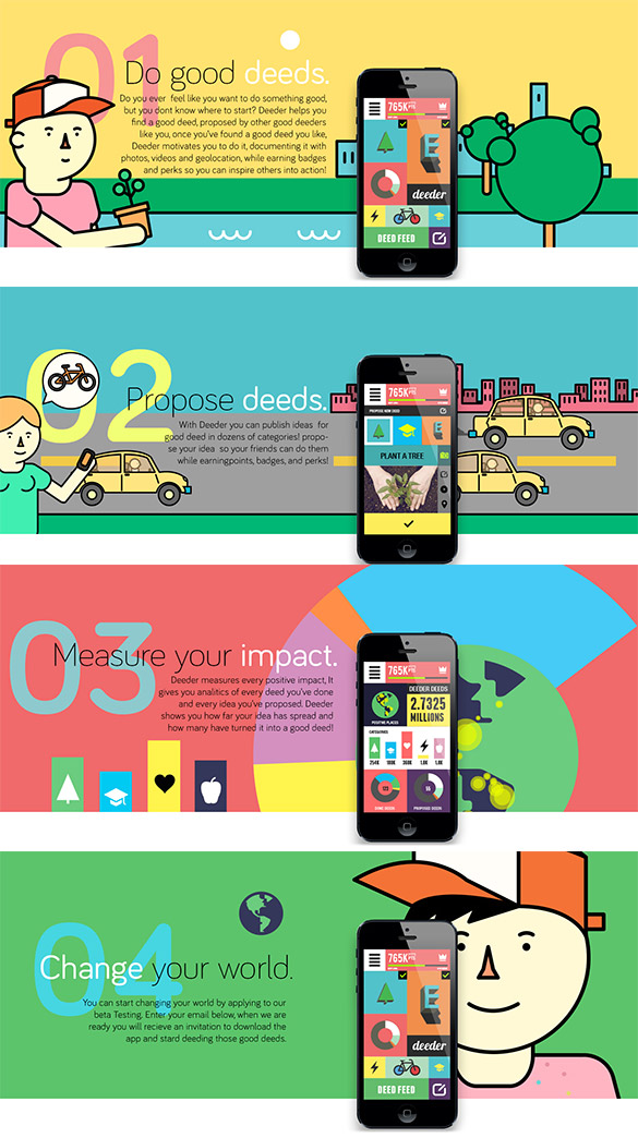 Changez le monde [POUR DE VRAI] avec une application.