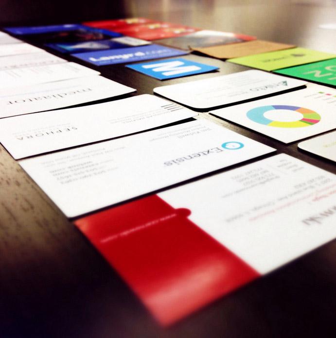 La Carte De Visite Formats Impressions Et Papiers Graphisme